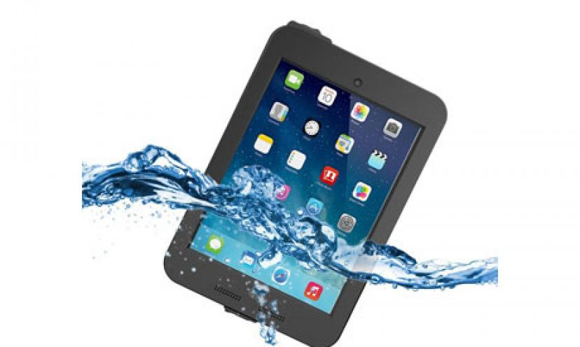 Save 81% Off on this iPad Mini 3 Waterproof Case!