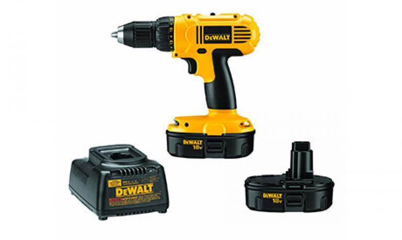 Save $90.00 on a DEWALT Drill & Driver Kit!