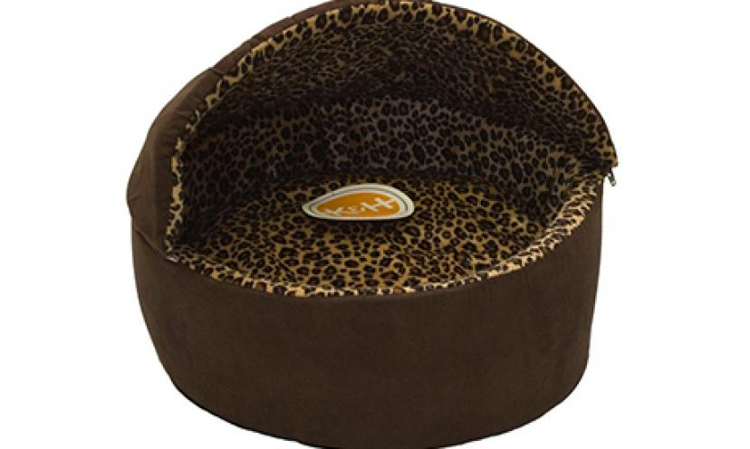 Save 58% Off on the K&H Manufacturing Deluxe Thermo-Kitty Bed!