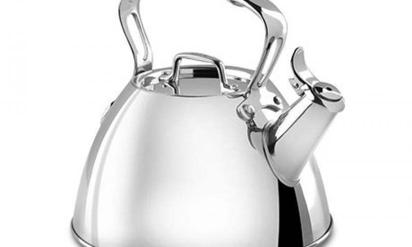 Enjoy 57% Off on All-Clad Stainless Steel Tea Kettle!