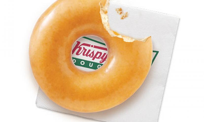 Get a FREE Doughnut at Krispy Kreme on June 5!