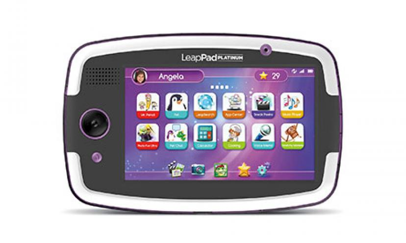 Save 41% Off on LeapFrog LeapPad Platinum Kids Learning Tablet!