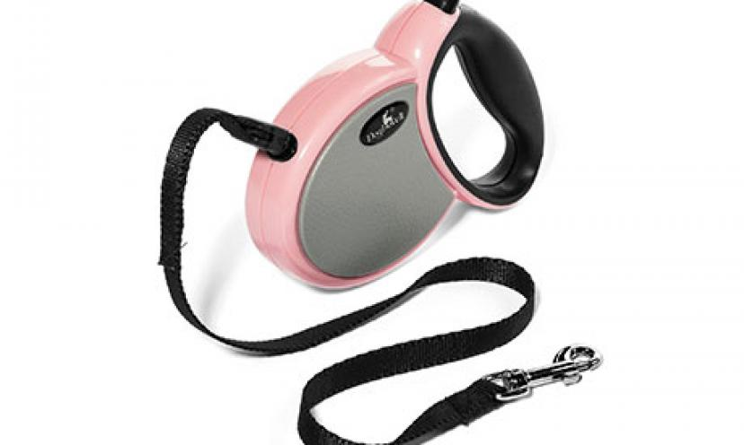 Save 63% Off Dogloveit Designer Automatic Retractable Dog Leash!