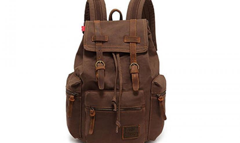 Save 20% Off on the EasyBest Fashion Leisure Men's Leather Backpack!