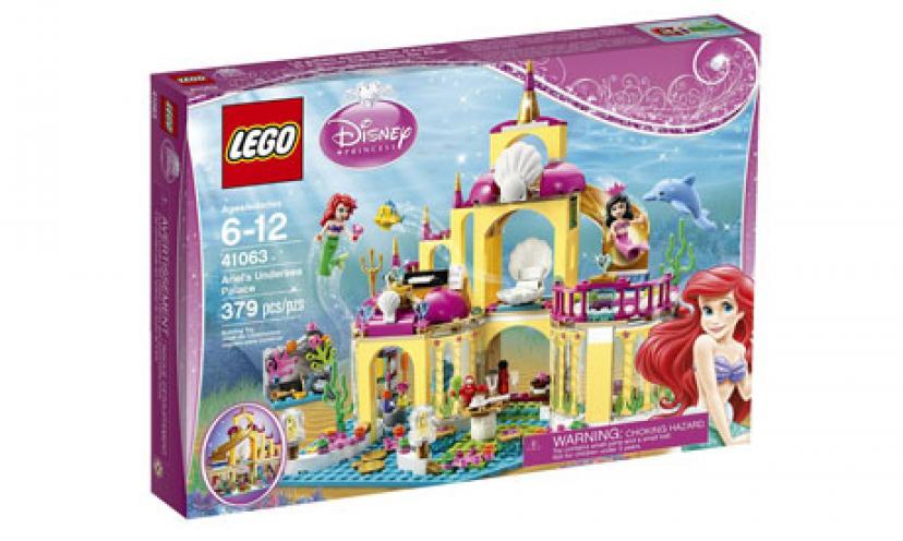 Get 20% Off LEGO Disney Princess Ariel's Undersea Palace!