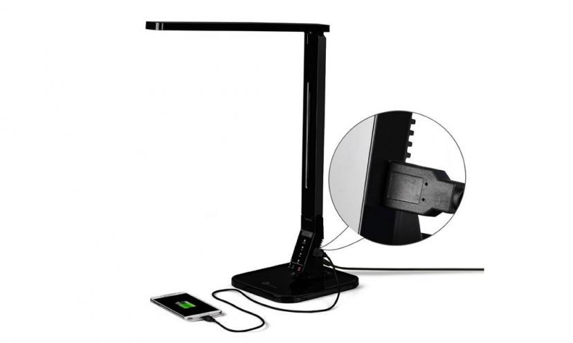 Enjoy 65% Off on TaoTronics Elune Dimmable LED Desk Lamp!