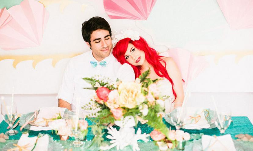 This Little Mermaid Themed Wedding Will Make Disney Fans Go WILD!
