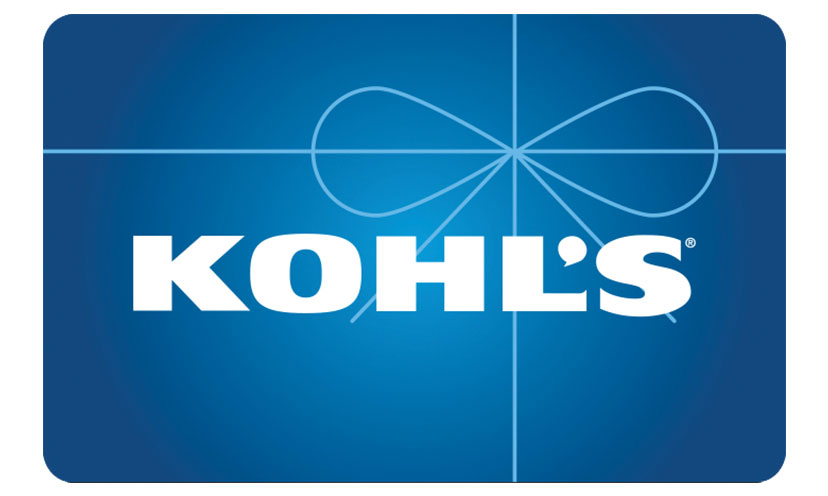 Enter For a Chance to Win a $100 Kohl's Gift Card!