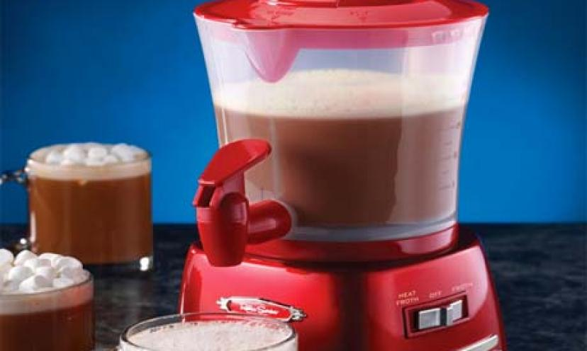Get the Nostalgia Electrics Hot Chocolate Maker for 46% Off!