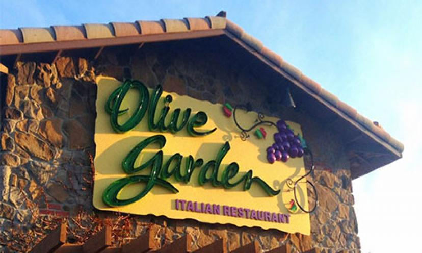 Get A $100 Olive Garden Gift Card!