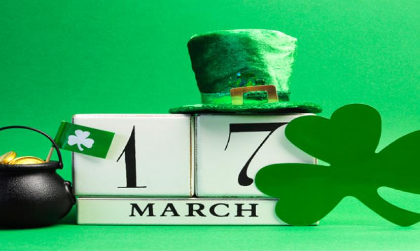 Lucky Deals and Sweet Treats for Saint Patrick's Day!