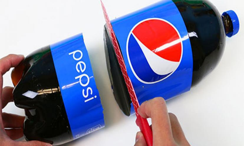 Learn How To Make A GIANT Two Liter Gummy Pepsi Cola Bottle!