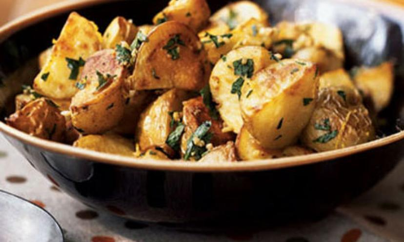 Healthy Potatoes?! Best believe it- AND it's easy!