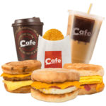 Free Cafe Breakfast Samples!