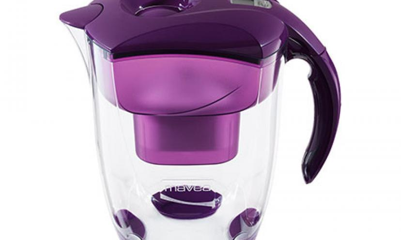 Save 26% off Mavea 9-Cup Water Filter! Lots of Colors!