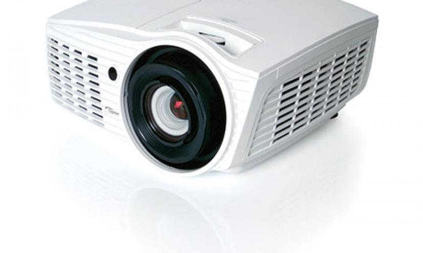 Save 50% Off on the Optoma Home Cinema Projector!