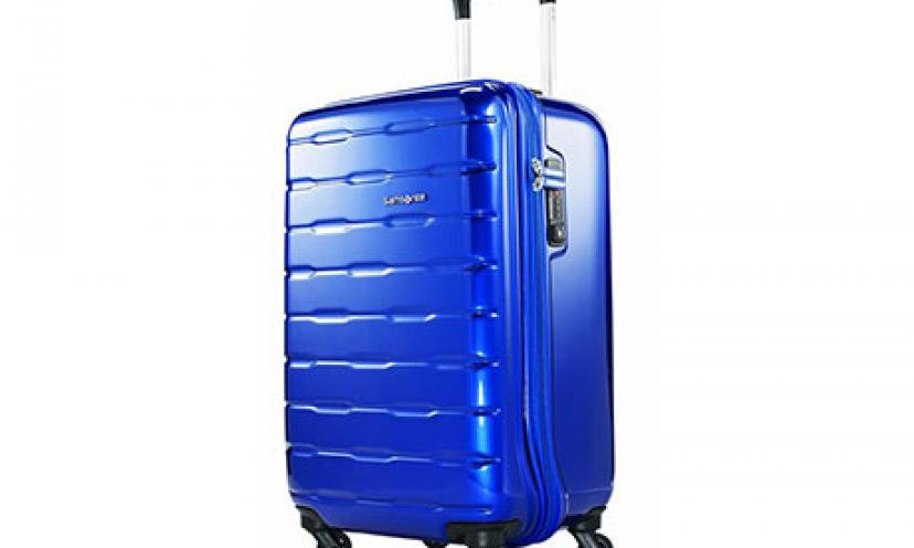 Enjoy 73% Off on Samsonite Spin Trunk Spinner 25!