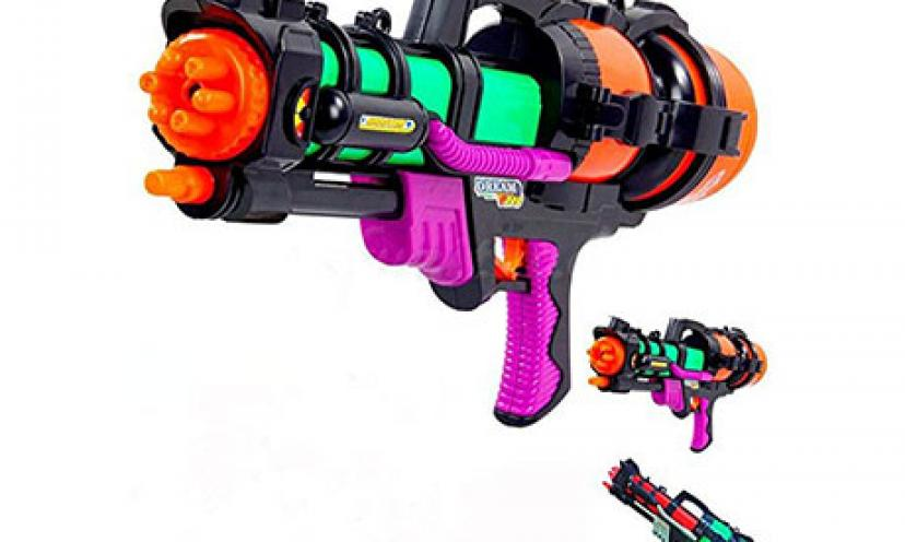 Save on a Super Soaker Water Pistol!