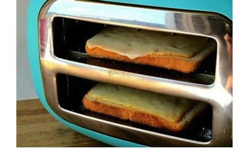 LIFE HACK: Turn Toaster Sideways for Grilled Cheese!