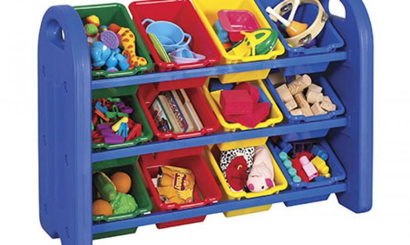 Enjoy 52% Off on 3-Tier Toy Storage Organizer!