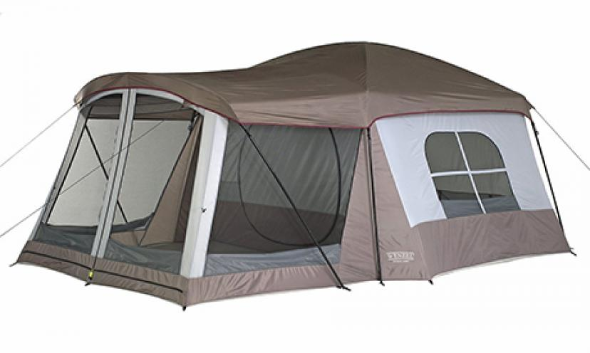 Save 38% off on the Wenzel Klondike 8-Person Family Tent