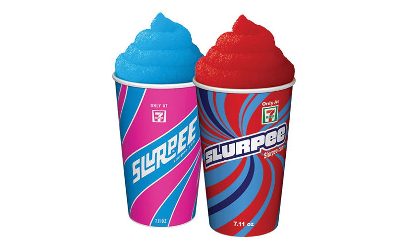 Get a FREE Small Slurpee from 7-Eleven!