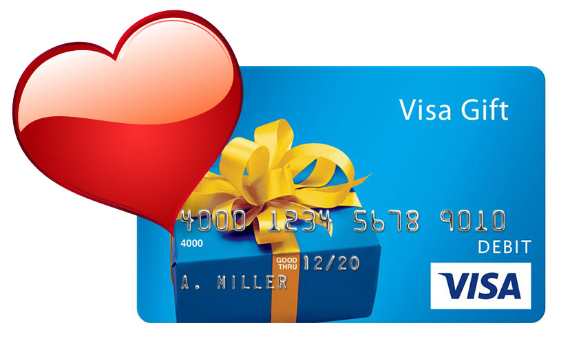 Get a Visa Gift Card!