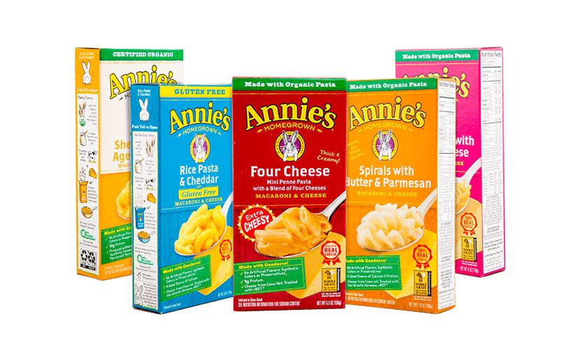 Get FREE Annie's Mac & Cheese!