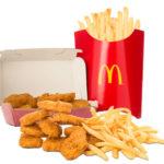 Get FREE McDonald's Nuggets!