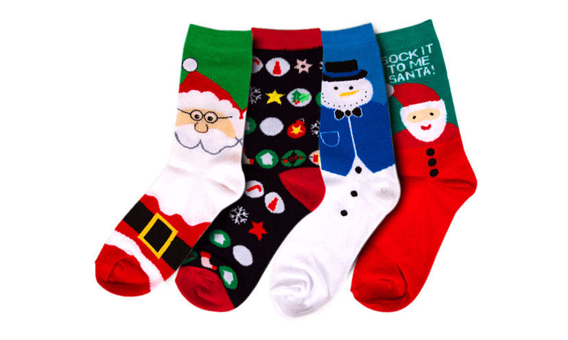 Get FREE Christmas Socks!