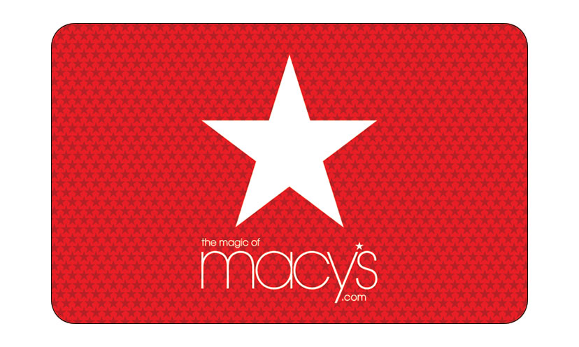 Get a $500 Macy's Gift Card!
