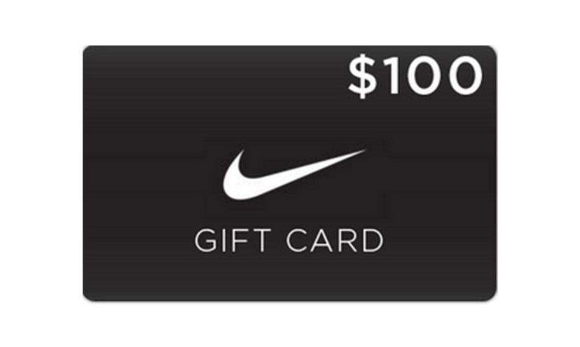 Get a $100 Nike Gift Card!