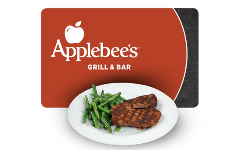 Get FREE Applebee's!