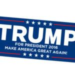 Get a FREE Trump Sticker!