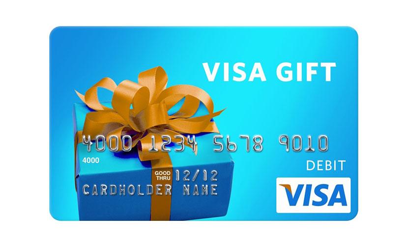 Get a $50 Visa Gift Card!