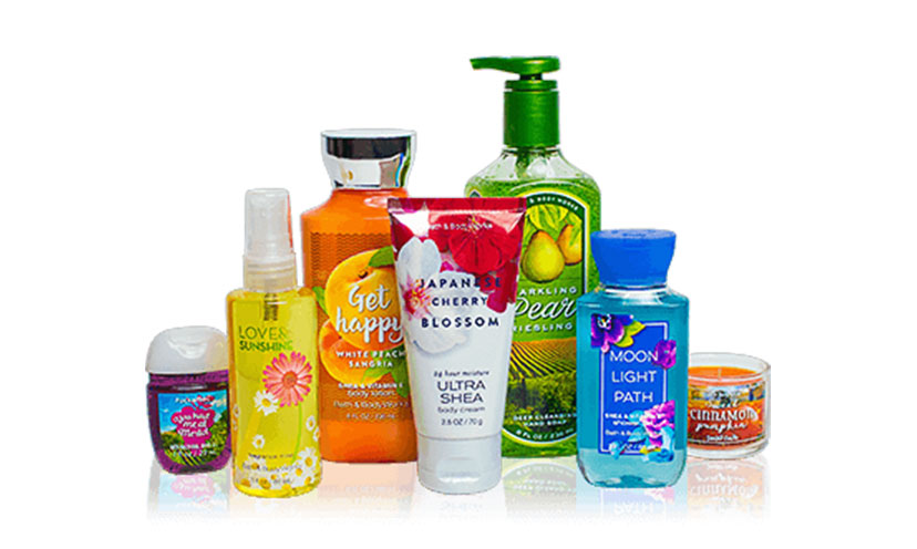 Get FREE Bath & Body Works Samples!