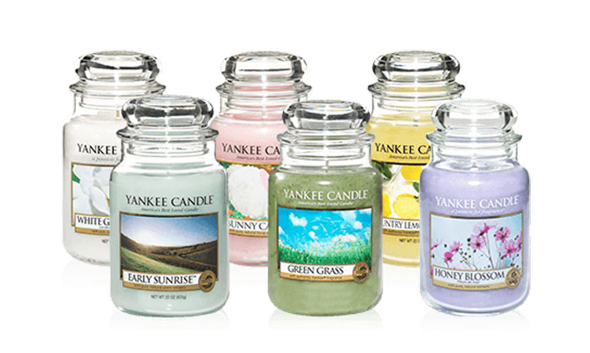 Get FREE Yankee Candle Samples!