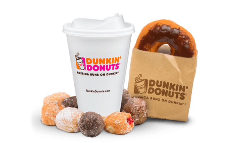 Get FREE Dunkin' Donuts!