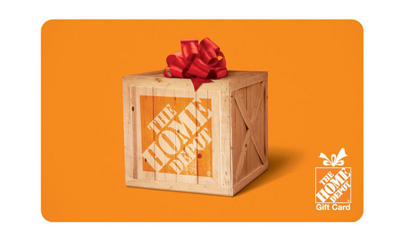 Enter to Win a $5,000 Home Depot Gift Card!