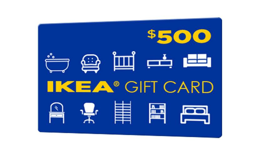 Get a $500 IKEA Gift Card!