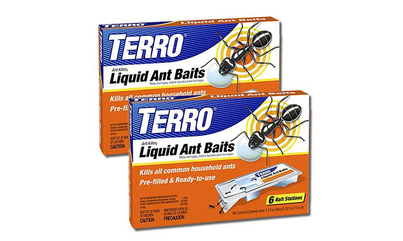 Save 29% off on Terro Liquid Ant Baits!