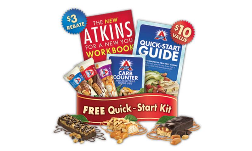 Get a FREE Atkins Diet Quick-Start Kit!