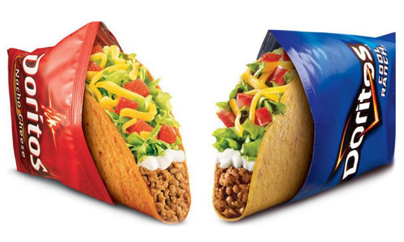 Get a FREE Doritos Locos Taco from Taco Bell!
