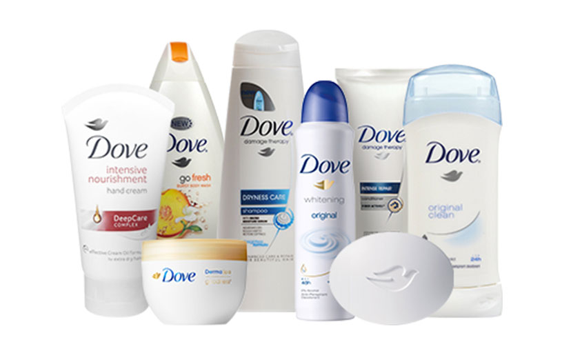 Get FREE Dove Samples!