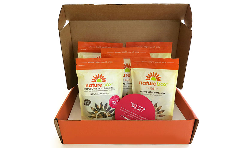 Get a FREE Four Pack of Snacks from Naturebox!