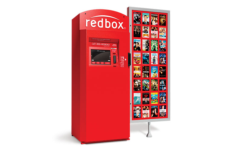 Get Two FREE Rentals From Redbox!