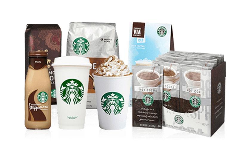 Get FREE Starbucks Coffee!