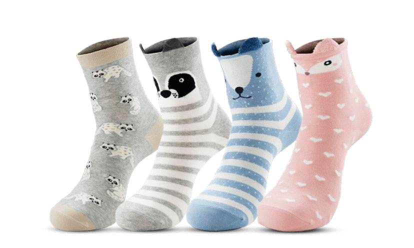 Get FREE Animal Socks!