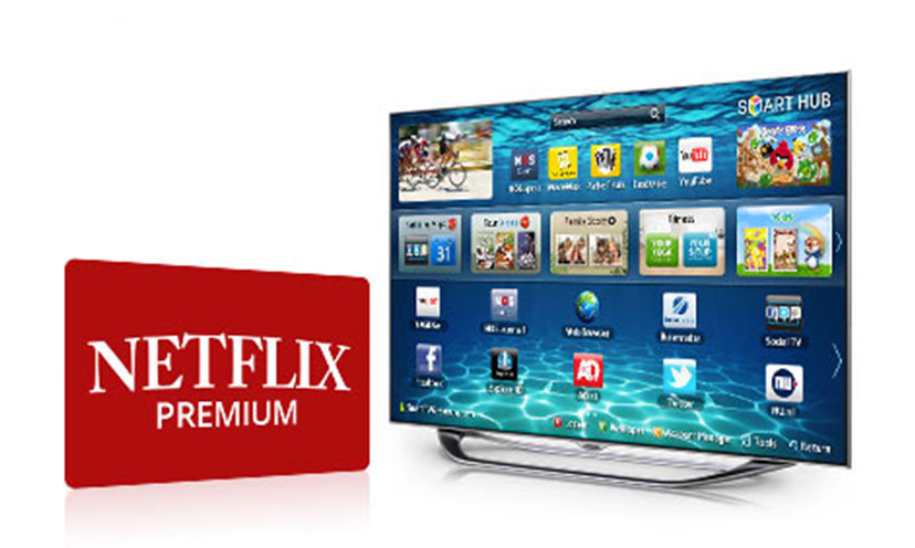 Enter to Win a Year of Netflix and a 60″ Smart TV!