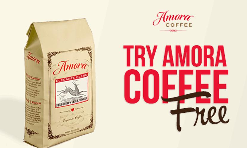 Get FREE Amora Coffee!